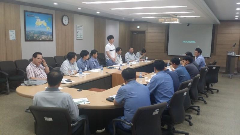 여수산단기업대상국가인적자원개발컨소시엄사업설명회개최