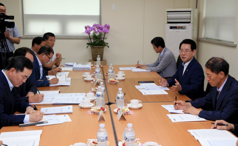 안연순원장동부지역본부도지사업무보고회참석