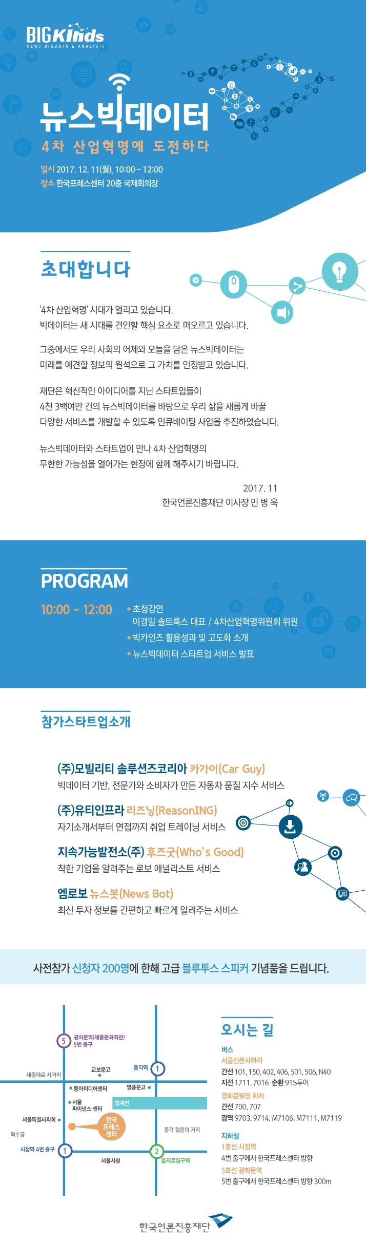 한국언론진흥재단뉴스빅데이터4차산업혁명에도전하다