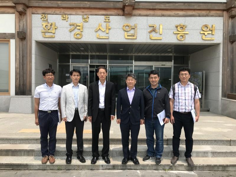 김상훈영산강유역환경청장우리원방문
